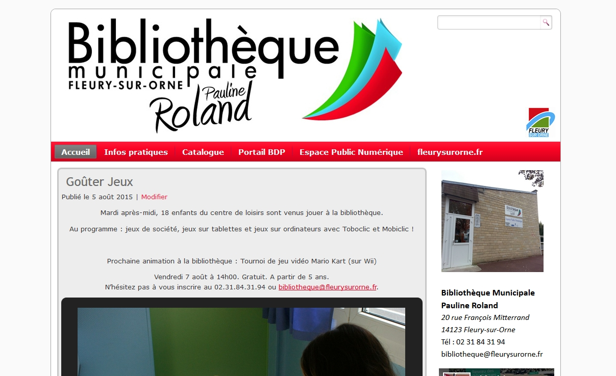 Blog bibliothèque