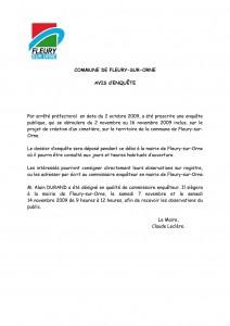 COMMUNE DE FLEURY-SUR-ORNE