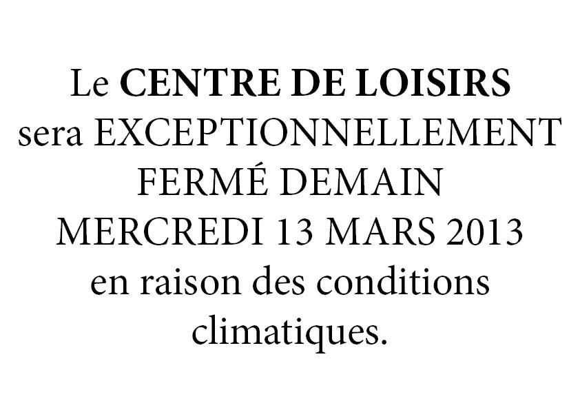 CentreAnimFerméle13mars2013