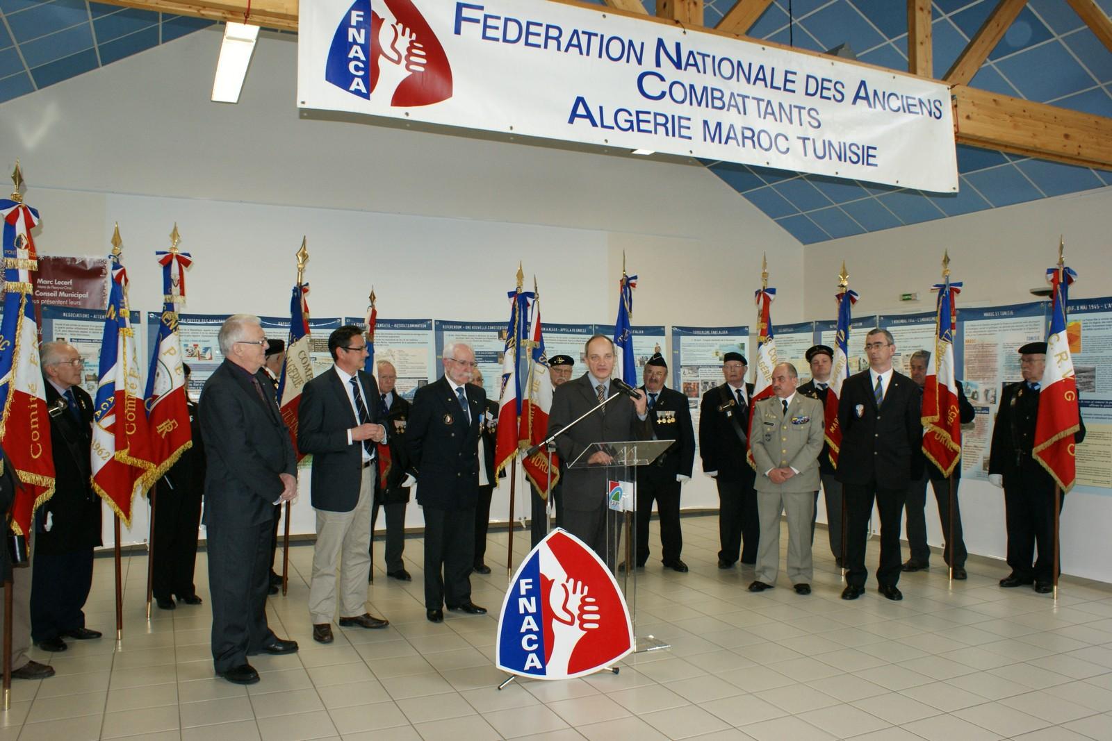 Exposition sur la guerre d'Algérie