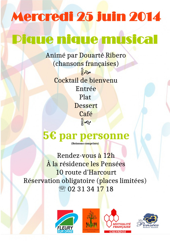 affiche repas musical 250614