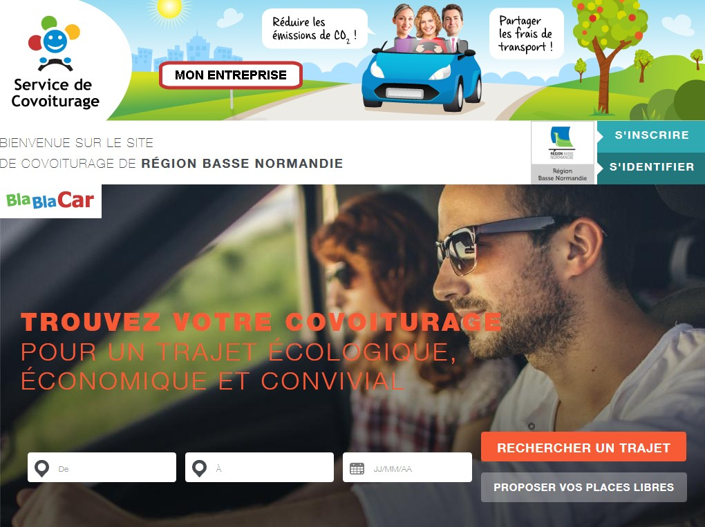Site covoiturage