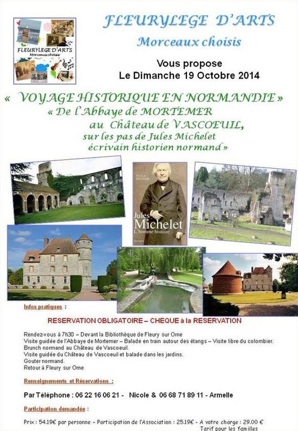 Voyage historique en Normandie
