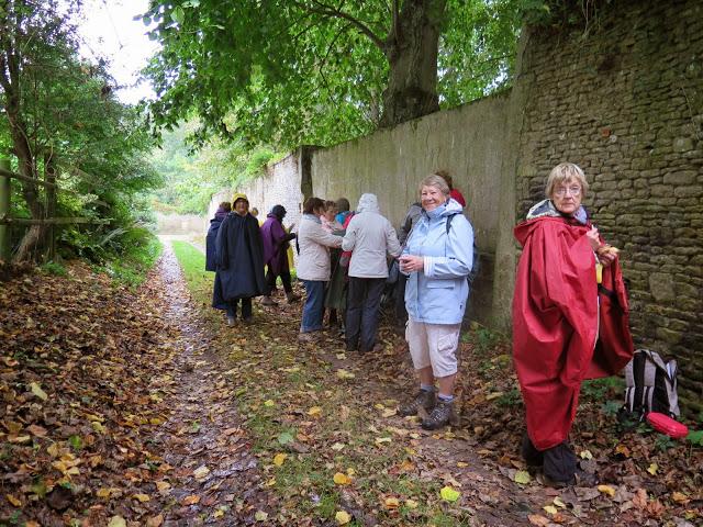 La randonnée du 12 octobre à Cambes-en-Plaine