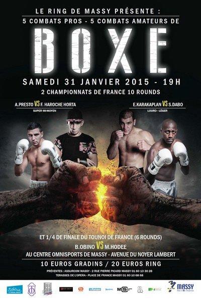 Affiche premier tour du TOURNOI DE FRANCE pour Maxime