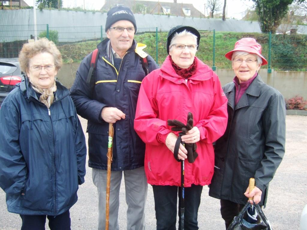 La balade du 19 décembre à Fleury-sur-Orne
