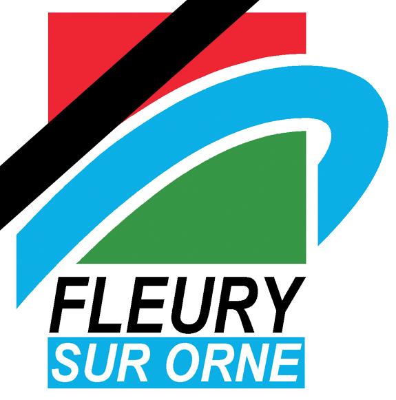 Logo Fleury-sur-Orne web en berne