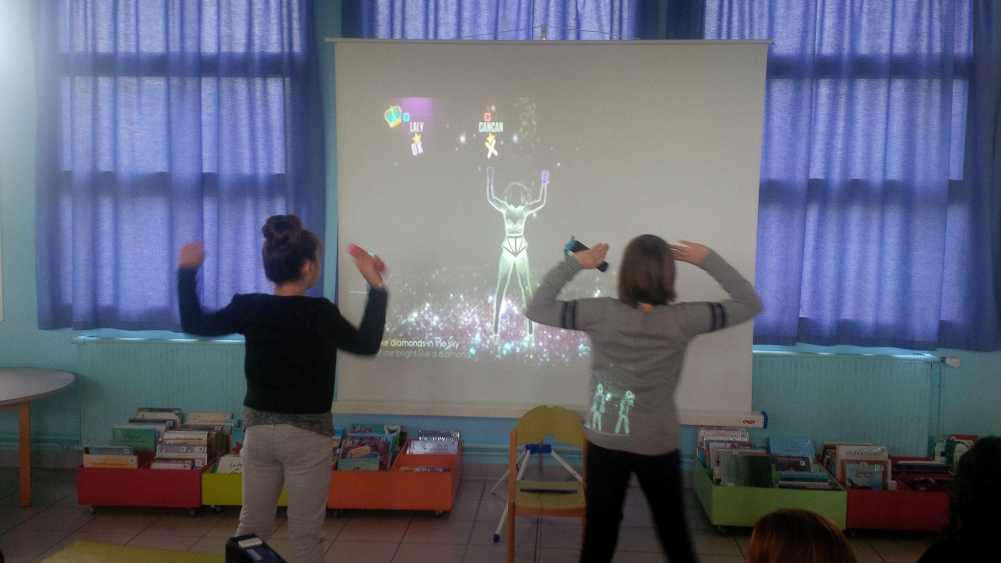 Just dance à l'EPN