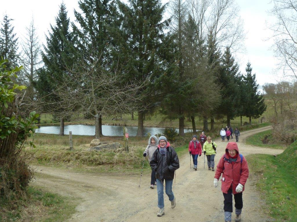 La randonnée du 22 mars à Roullours