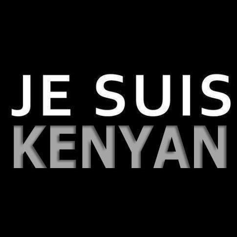 Je suis Kenyan