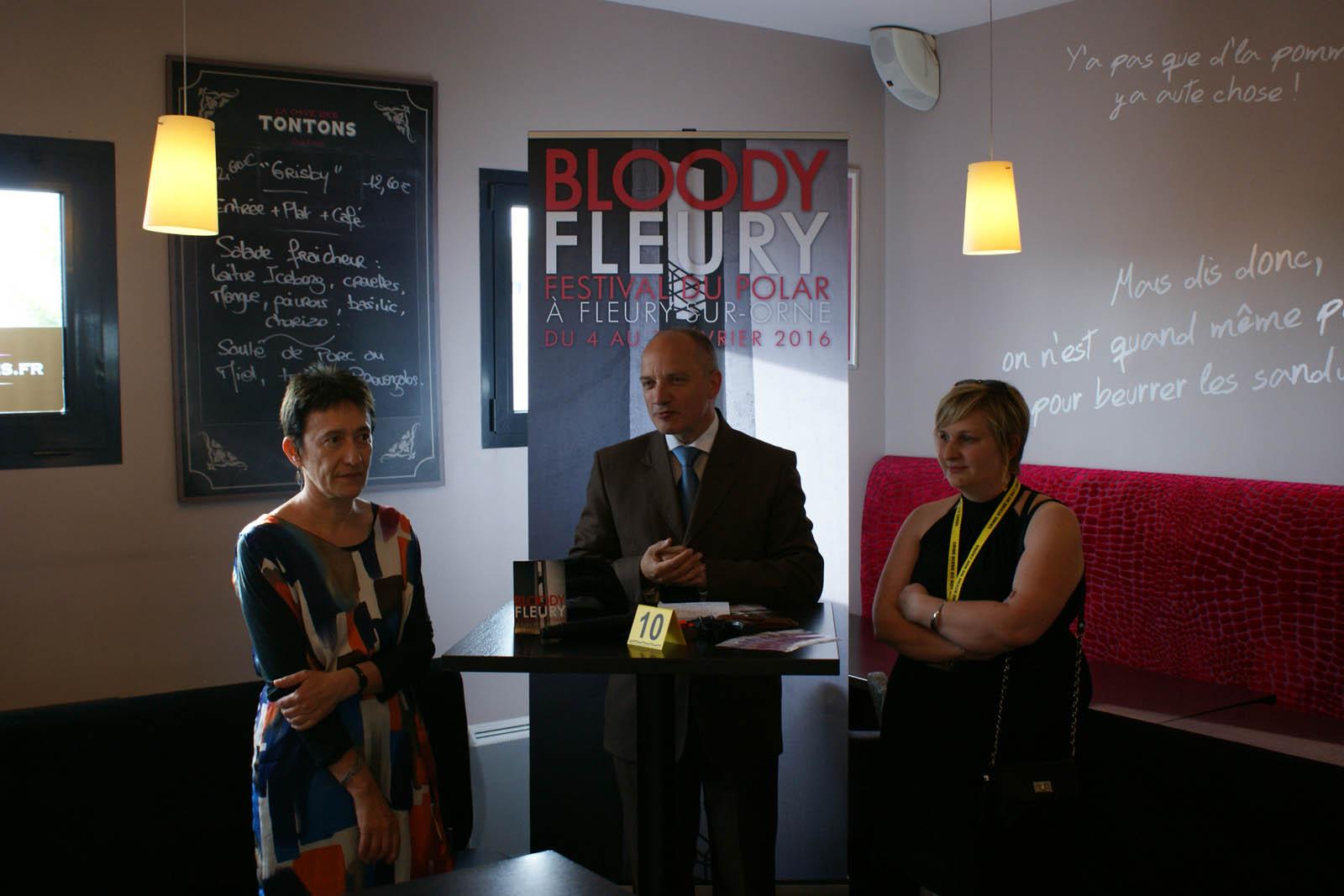 Conf de presse Bloody Fleury