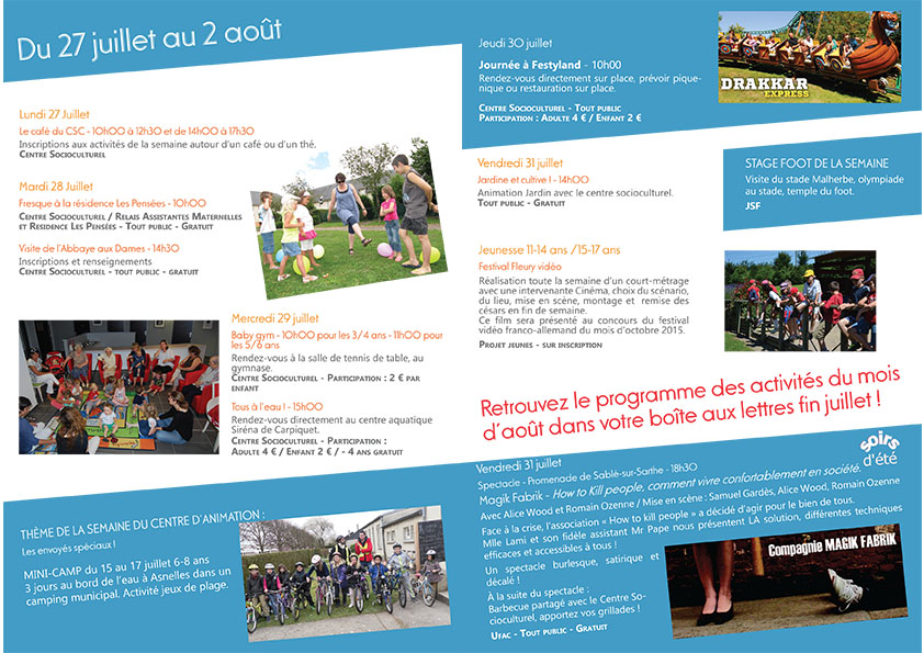 Plaquette des activités été juillet 2015-8-9