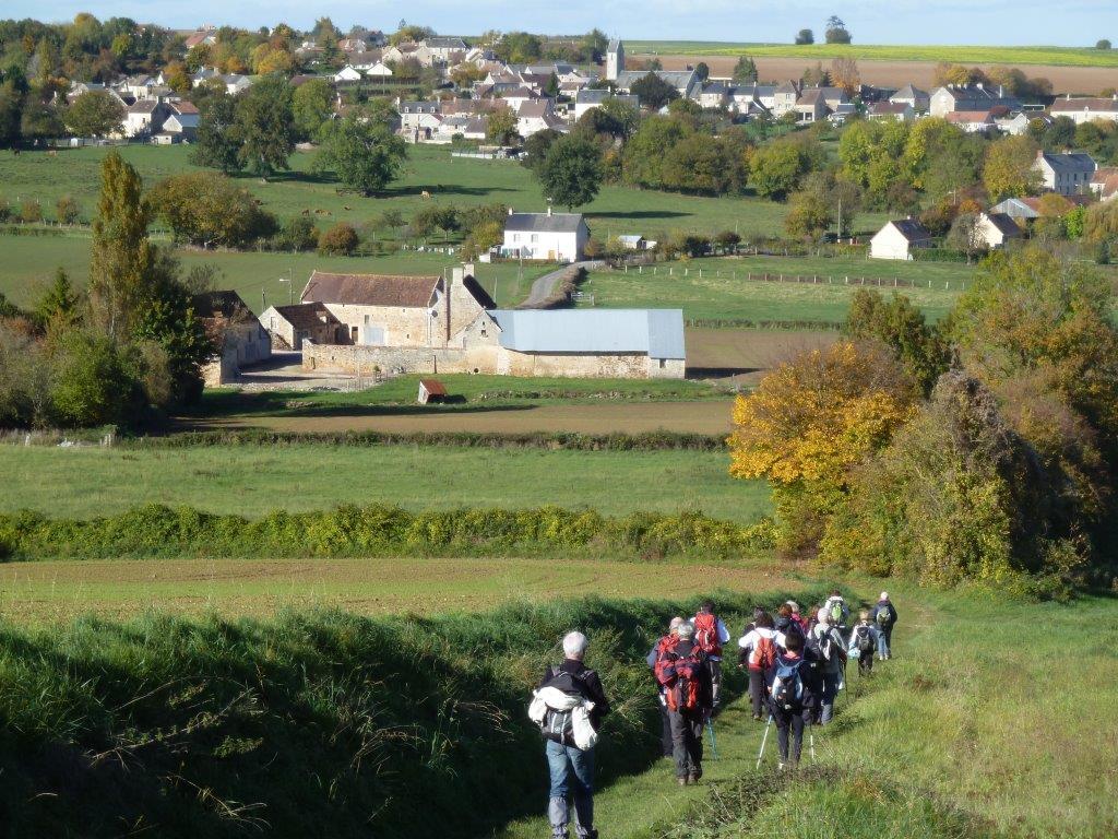 La randonnée du 25 octobre à Estrées-la-Campagne