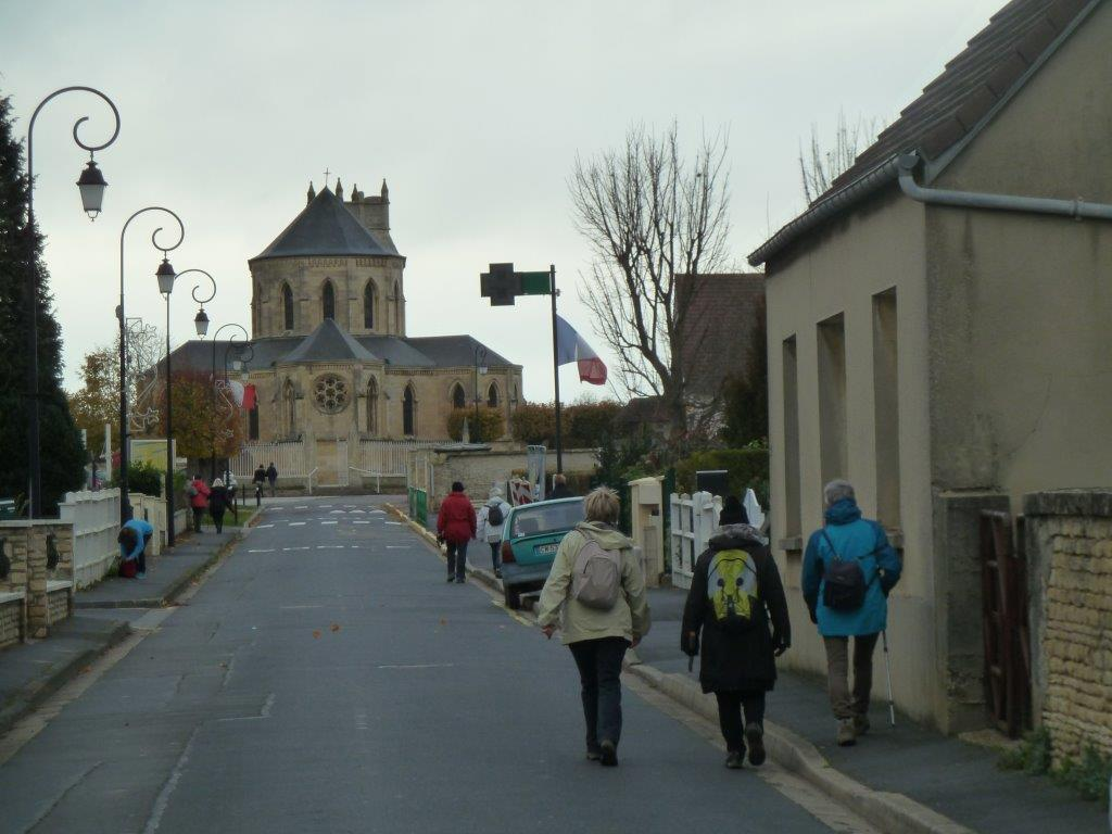 La randonnée du 6 décembre à Ranville