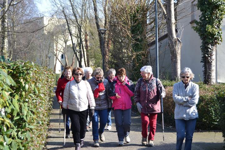 La promenade du 15 mars à Hérouville-Saint-Clair