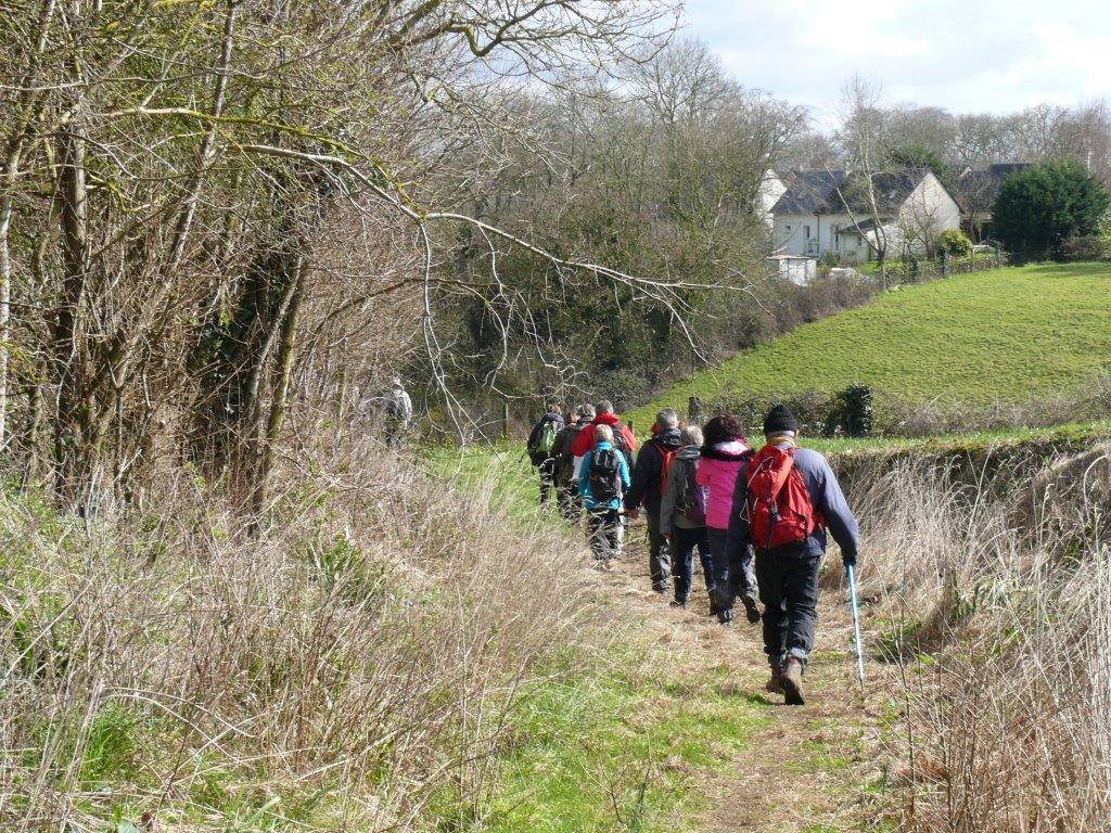 La randonnée du 6 mars à Fontaine-Henry