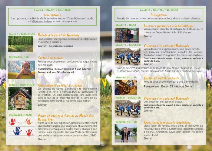 Programme printemps2