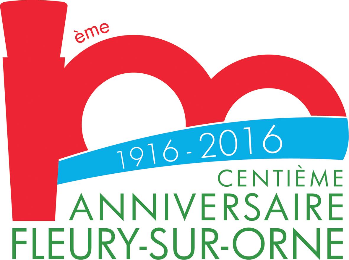 Logo Officiel 100 ans Fleury