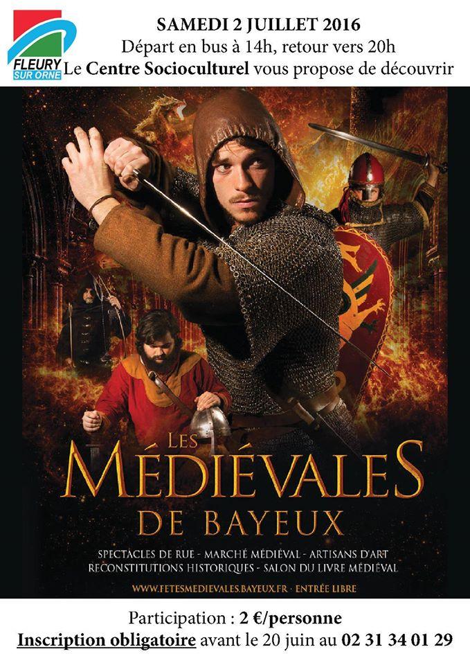 Inscriptions pour les médiévales de Bayeux