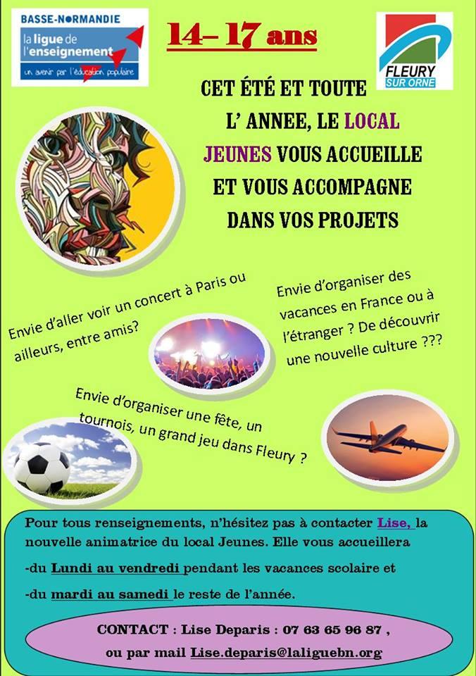 Le local Jeunes vous accueille cet été et toute l'année afin de vous accompagner dans vos projets!